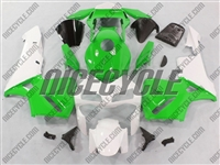 Honda CBR600RR Green/White Fairings