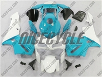 Honda CBR600RR Motorcycle Super Blue/White Fairings