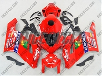 Honda CBR1000RR Red Eurobet Fairings