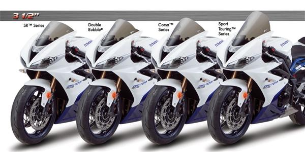 TRIUMPH DAYTONA 675 2009-2012 SMOKE ZERO GRAVITY MOTORCYCLE WINDSHIELD