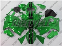 Dark Green Race Suzuki GSX-R 1300 Hayabusa Fairings