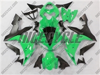 Yamaha YZF-R1 Bright Green Fairings