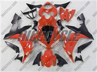 Yamaha YZF-R1 Deep Orange Fairings