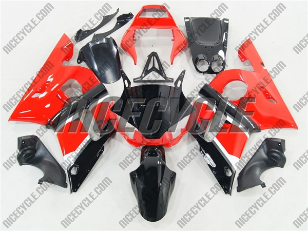 1998 2002 yamaha yzf r6 red oem style motorcycle fairings