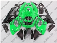 Yamaha YZF-600R Bright Green Fairings