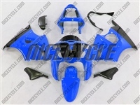 Kawasaki ZX6R Blue Fairings