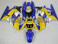 Honda CBR600 F3 Blue/Yellow Fairings