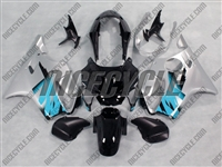 Honda CBR 600 F4 Silver/Blue Fairings