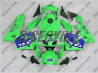 Honda CBR600RR Green Camel Joe Fairings
