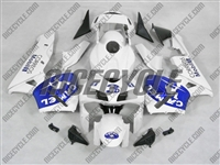 Honda CBR600RR White Camel Joe Fairings