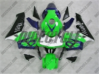 Honda CBR600RR Corona Green Fairings