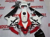 Honda CBR600RR White/Red OEM Style Fairings