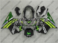 Honda CBR600 F4i Black Movistar Fairings