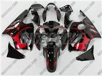 Kawasaki ZX12R Tribal Red Fairings