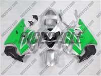 Honda CBR600 F4i Silver/Green Fairings
