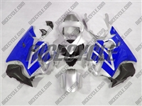 Honda CBR600 F4i Silver/Blue Fairings