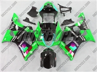Suzuki GSX-R 1000 Green Jomo Moto GP Fairings