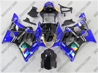 Suzuki GSX-R 1000 Blue Jomo Moto GP Fairings