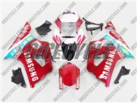 Suzuki GSX-R 1000 Candy Red Samsung Fairings