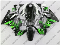 Honda CBR600 F2 Mean Green/Black Fairings
