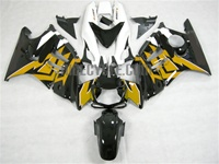 Honda CBR600 F3 Black/Gold Fairings