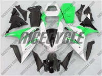 Yamaha YZF-R1 White/Green Fairings