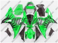Yamaha YZF-R1 Metallic Blast Green Fairings