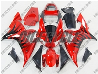 Yamaha YZF-R1 Metallic Blast Red Fairings