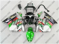 Kawasaki ZX6R Green Eurobet Fairings