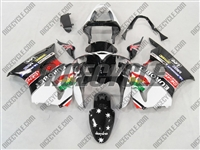 Kawasaki ZX6R Black Eurobet Fairings