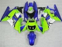 Green/Blue Honda CBR600 F3 Motorcycle Fairings