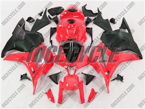 Honda CBR600RR Red/Black Fairings