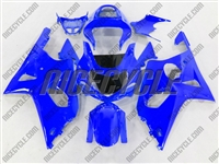 Suzuki GSX-R 1000 Neon Blue Fairings