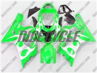 Neon Green Tribal Suzuki GSX-R 600 750 Fairings