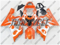 Orange Tribal Suzuki GSX-R 600 750 Fairings