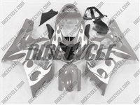 Grey Tribal Suzuki GSX-R 600 750 Fairings