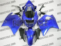 Honda CBR1100XX Plasma Blue Blackbird Motorcycle Fairings