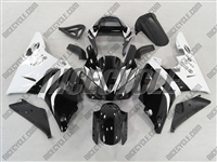 Yamaha YZF-R1 Black/White Fairings