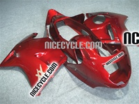 Honda CBR1100XX Blackbird Metallic Red Fairings