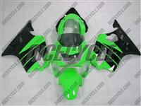 Honda CBR 600 F4 Bright Green/Black Fairings