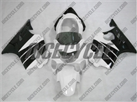 Honda CBR 600 F4 White/Black Fairings