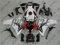 Honda CBR1000RR White/Red OEM Style Fairings