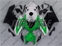 Honda CBR1000RR Green/White/Black Fairings