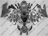 Honda CBR 1000RR Silver Tribal/Grey Fairings