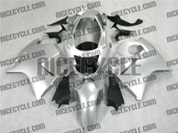 Honda CBR1100XX Blackbird Pure Silver Fairings