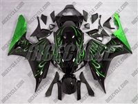 Honda CBR 1000RR Green Fire Fairings