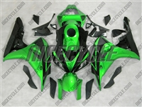 Honda CBR 1000RR Green Metallic/Black Fairings