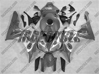 Silver/Silver Tribal Honda CBR 1000RR Motorcycle Fairings