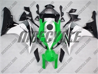 Honda CBR 1000RR White/Green/Black Fairings