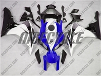 Blue/White Honda CBR 1000RR Motorcycle Fairings